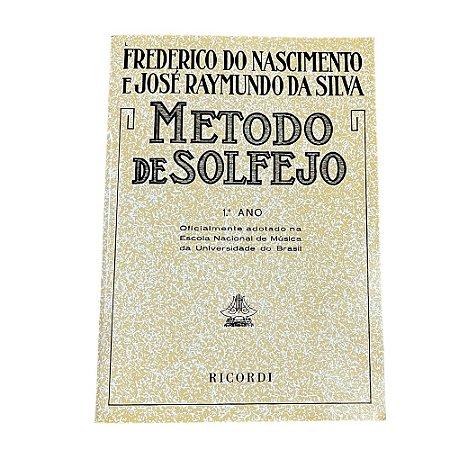 Método de Solfejo - Frederico do Nascimento Vol.1 006974