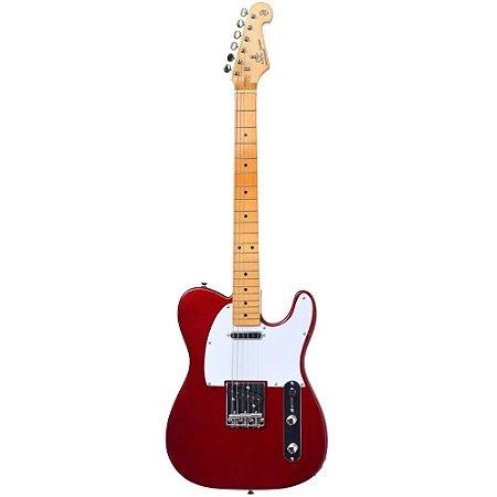 Guitarra Sx Stl50 telecaster Vintage vermelha Candy Apple