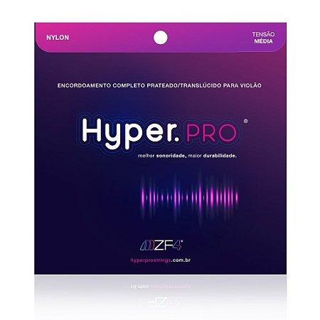 Encordoamento Hyperpro Violão Nylon Tensão Média