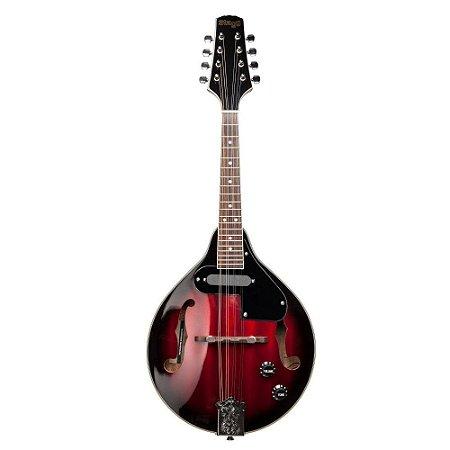Bandolim Mandolin Stagg Elétrico M50E Vinho Sunburst 80121