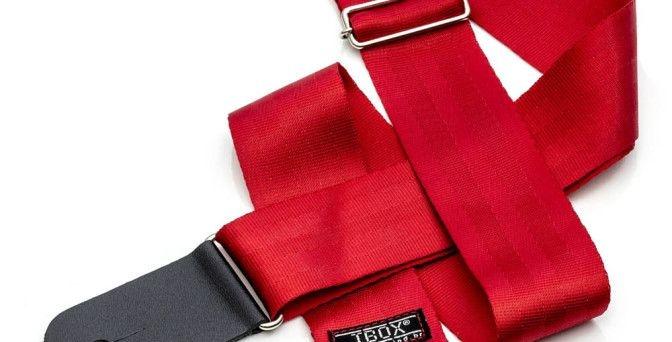 correia ibox trend ct504 cor vermelho brilhante guitarra baixo violao