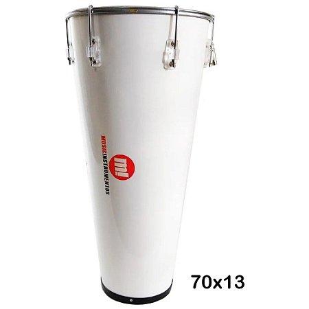 Timba 13 pol x 70cm Branco Music Phx Madeira 213P Br