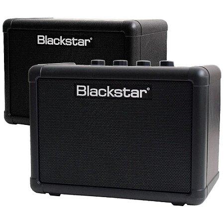 Kit Amplificador Blackstar Fly 3 Mini + caixa extensão