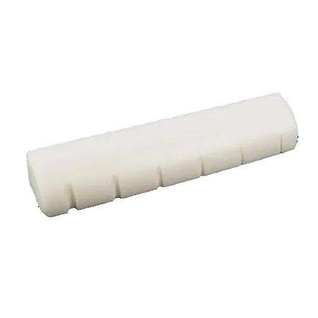 Nut Pestana de Osso Para Violão De Aço Branco 235 Ronsani