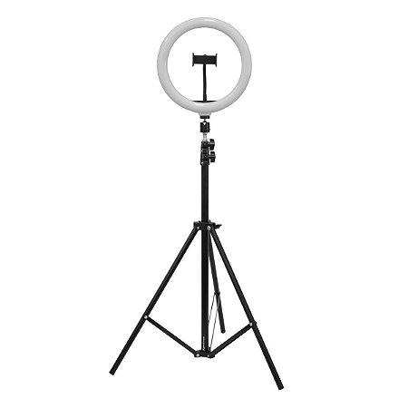Iluminador Ring Light Spectrum Portatil Tripe 2m SP25 Led