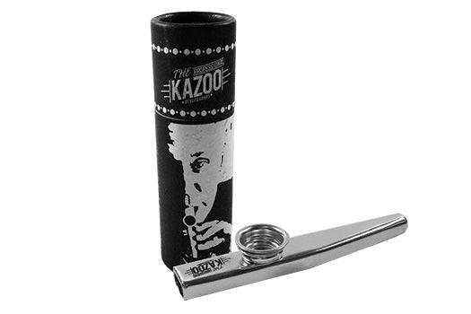 Kazoo Profissional Metálico Cor Prata
