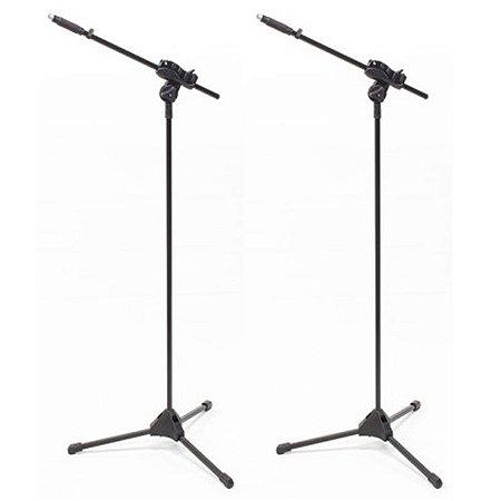 Suporte Pedestal de Microfone Ibox Smlight - 2 unidades