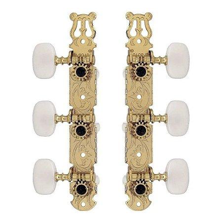 Tarraxas Gotoh Violão Classico 35G420 Dourado