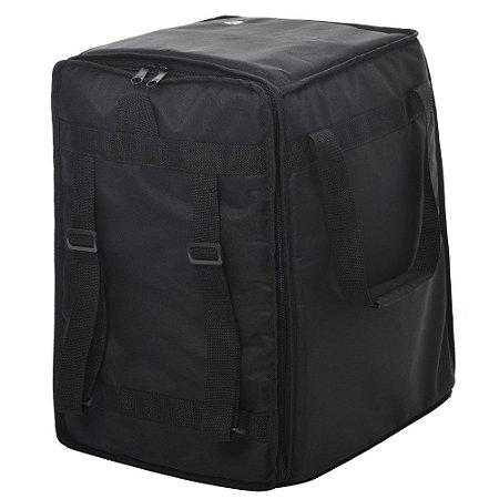 Capa bag Cajon Jpg Bags Extra Curvo Nylon 600 Preta