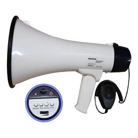 Megafone De Mao Soundvoice 1503x 15w
