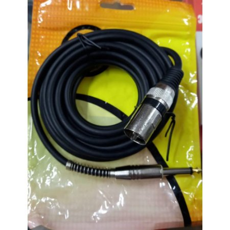 Cabo p10 x xlr Canon Macho 10 metros profissional Star Cable