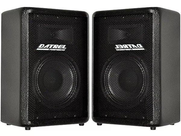 Caixa de som Ativa Passiva Datrel AF 8 200w Usb Bluetooth fm