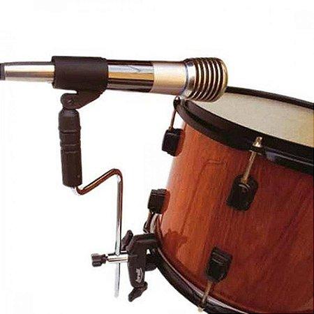 Multi Clamp Hast Suporte Microfone Bateria Tom Torelli Ta413