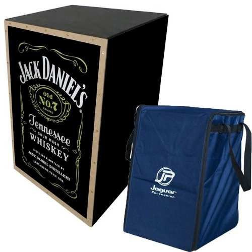 Cajon Elétrico Jaguar Jack Daniels CJ1000 Com Capa Bag