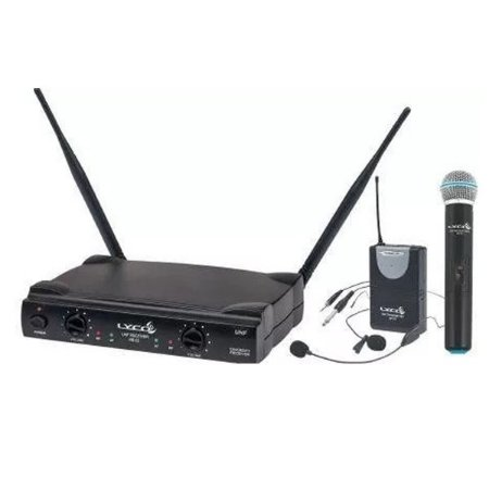 Microfone Lapela Sem Fio Lyco uh02mhli Headset