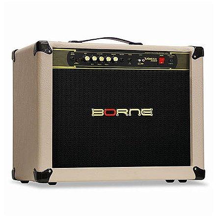 Amplificador Cubo Borne Vorax 2100 2x10 - 100w cor creme