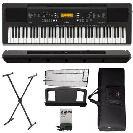 Teclado Yamaha PSREW300 6/8 USB 76 Teclas Suporte e Bag Luxo