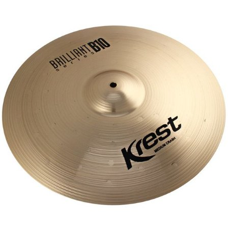Prato Bateria Ataque Medium Crash 18 Brilliant B10 Krest