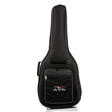 Capa Bag Para Violão Jumbo Grande Avs Ch200 super acolchoado