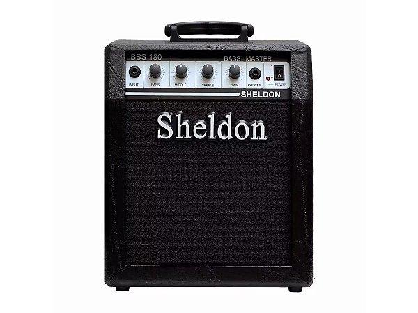 Amplificador Cubo para baixo Sheldon Bss180 18w - Preto