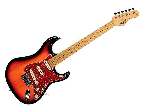 Guitarra Tagima TG 530 woodstock Sunburst stratocaster