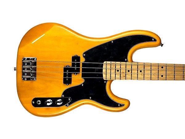 Baixo Tagima TW66 butterscotch Woodstock Passivo 4 Cordas