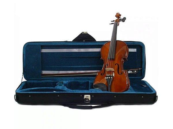 Kit Violino Eagle Ve144 4/4 Estojo Arco Breu Espaleira