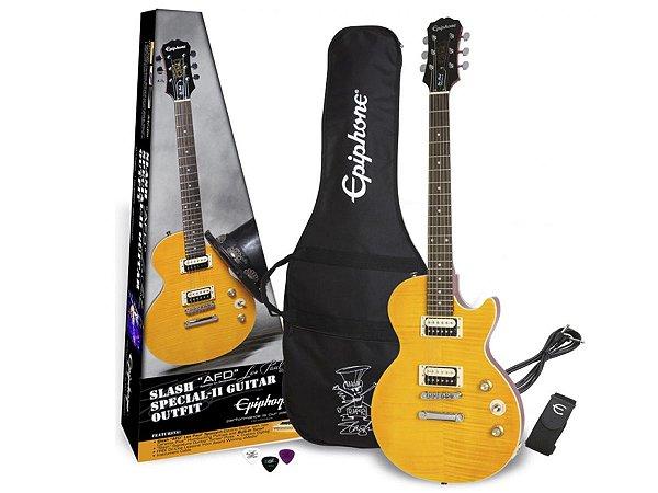 Kit Guitarra Epiphone Les Paul Slash guns n roses regulado