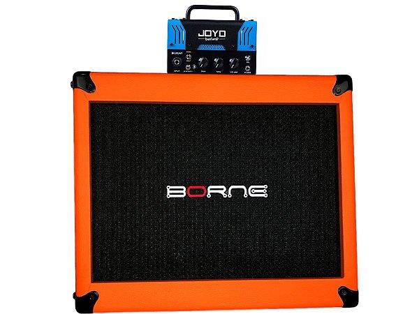 cabeçote joyo bluejay fender caixa borne laranja orange 12