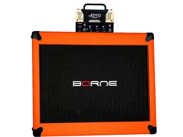 cabeçote joyo meteor orange caixa borne laranja orange 12