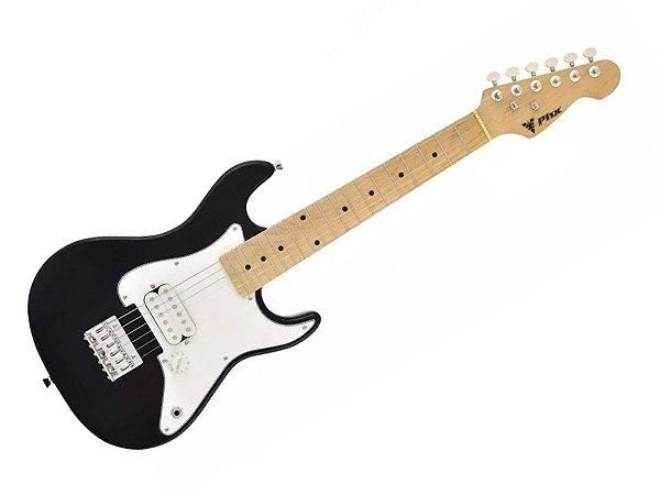 Guitarra Infantil Criança Eletrica Phx Ist1 Preto 3/4 profissional