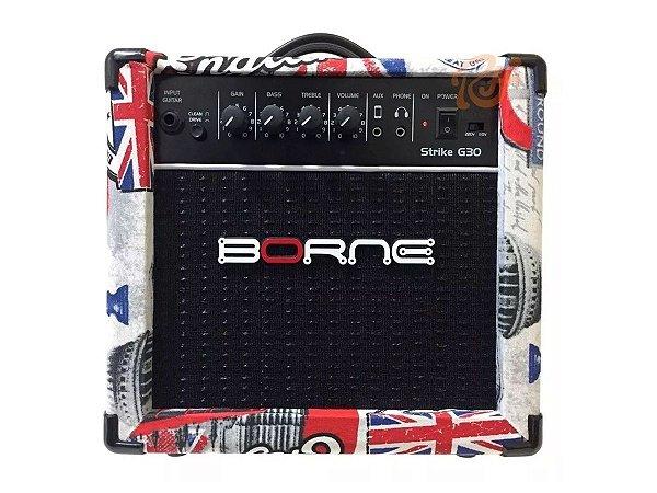 Amplificador para guitarra Cubo Borne G30 London C/ Distorção