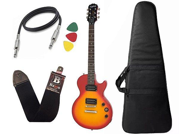Guitarra les paul Epiphone Special VE Sunburst Vintage + Capa Cabo