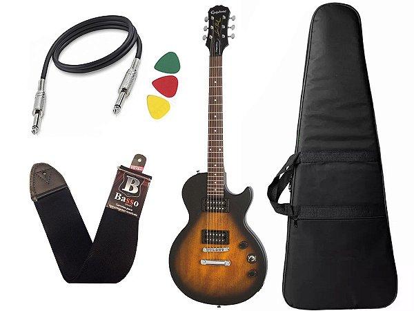 Guitarra les paul Epiphone Special VE BrownBurst Vintage + Capa Cabo