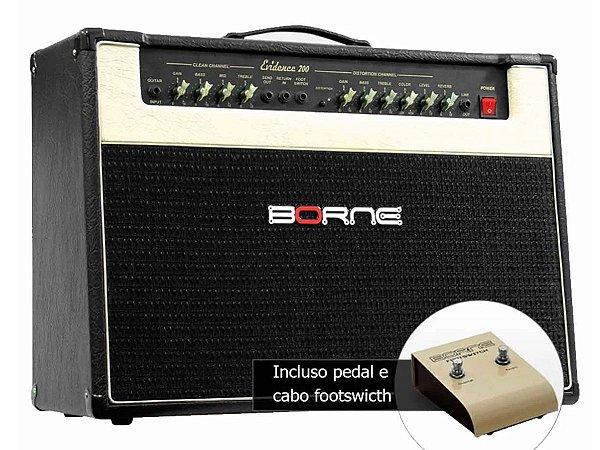 Amplificador Borne Evidence 200 150w rms 2 falantes de 12