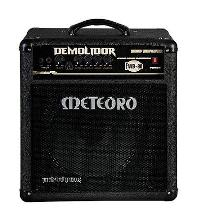 Amplificador Meteoro Demolidor Fwb 80 - 80w rms