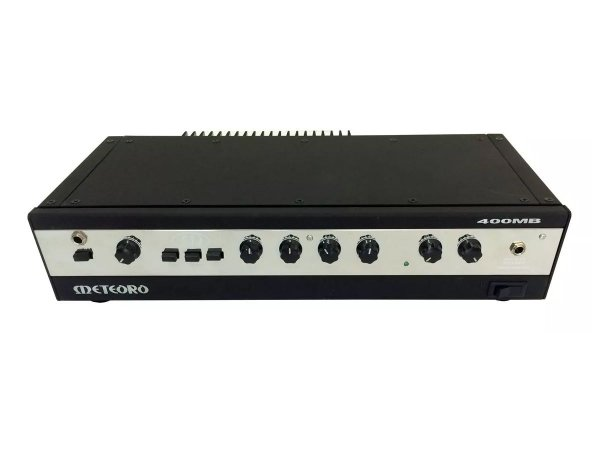amplificador Cabeçote Meteoro 400Mb 200 Watts para Baixo