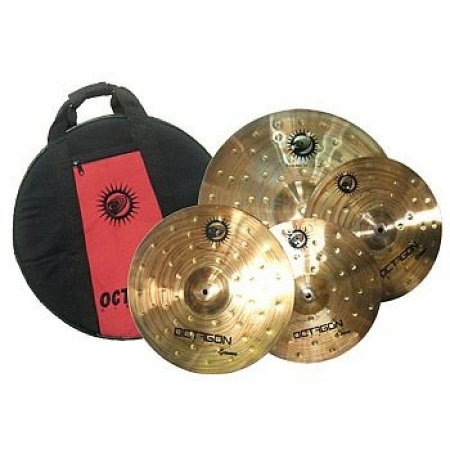 Kit Set Pratos Bateria Octagon Groove (gr) Bronze B8 C/ Bag 14 16 20