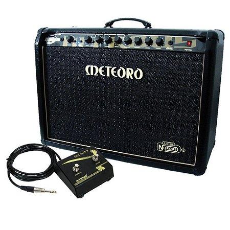 Amplificador Cubo Meteoro Nitrous Gs100 guitarra 100w c/ foot
