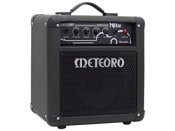 Amplificador Cubo Meteoro Nitrous Na 30 - 30w Rms P/ Violao