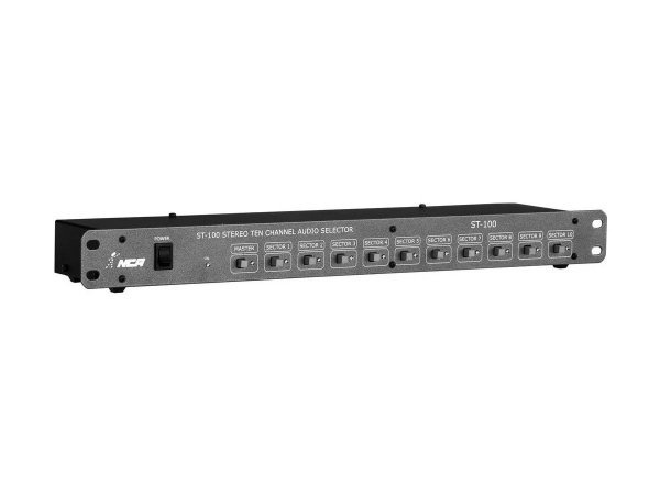 Setorizador 10 Canais Estéreo St100 Ll Audio Profissional