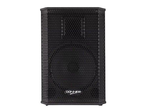 Caixa Ativa Amplificada Donner Saga 10a 200w Usb Bluetooth
