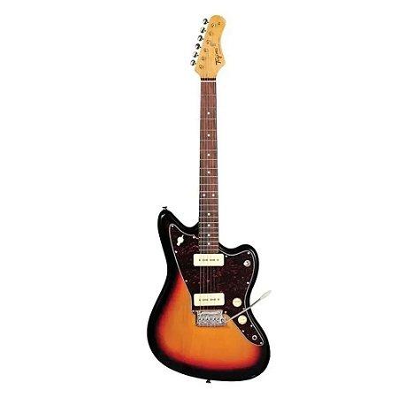 Guitarra Tagima Tw61 Woodstock Jazzmaster Sunburst