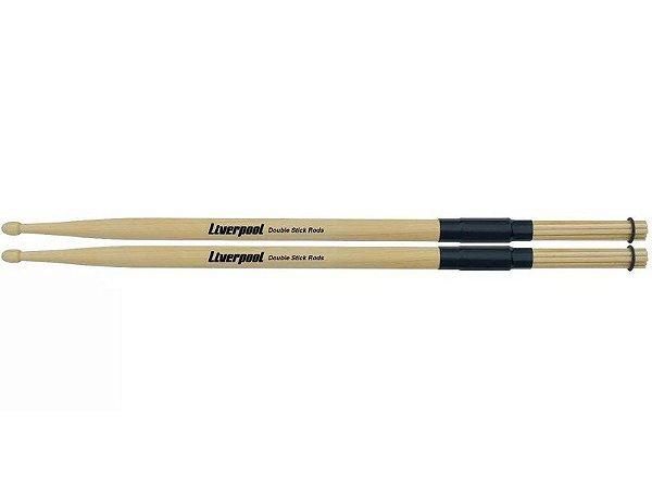 Par Baqueta Liverpool Double Stick Rods Rd164 Madeira