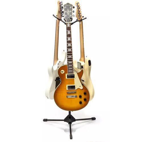 Pedestal Suporte 3 Instrumentos Guitarra Baixo Violão Ibox Sp3