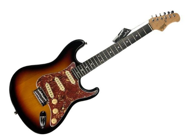 Guitarra tagima t635 Sunburst escala escura escudo Tortoise