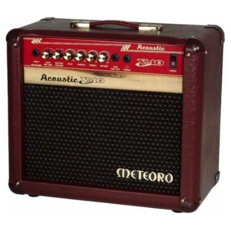 Cubo Amplificador Meteoro Acoustic V40 W - 4x5 P/ Violao