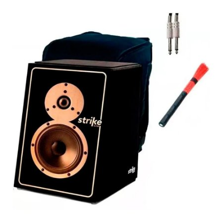Kit Cajon Fsa Elétrico Sk5011 Sound Box Vassourinha