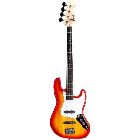 Baixo 4 Cordas Phx Jb 4 Jazz Bass Cherry Burst