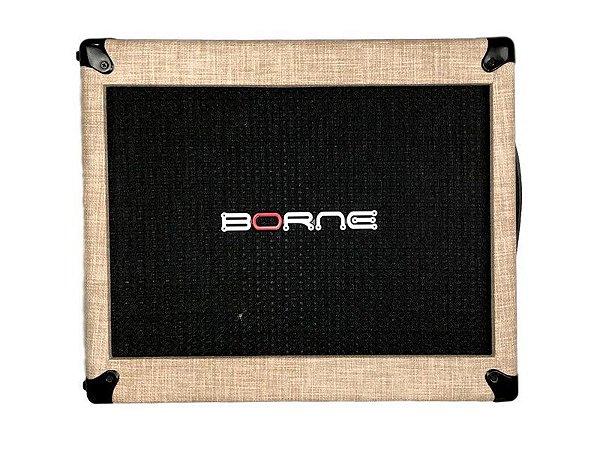 Gabinete caixa borne mob110 falante de 10 Palha creme 70w